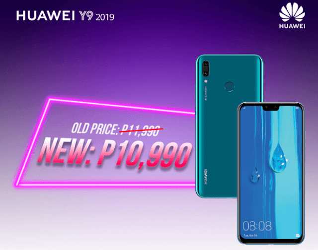 The Huawei Y9 2019 smartphone