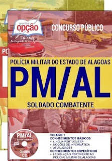 Apostila Polícia Militar de Alagoas - PMAL 2017