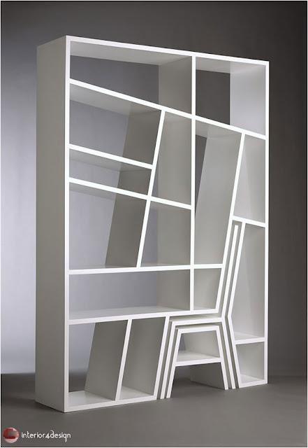 70 Best Bookshelf Designs 39