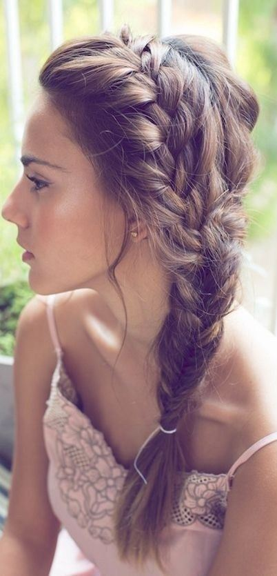 16 Side-Braid Hairstyles: Pretty Long Hair Ideas