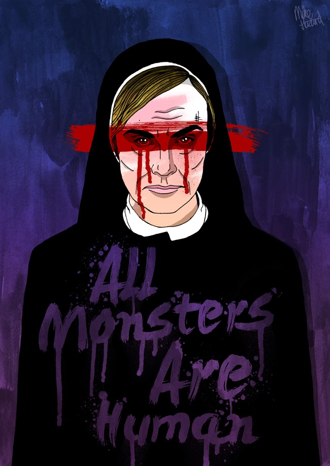 Mike Hazard Illustration All Monsters Are Human
