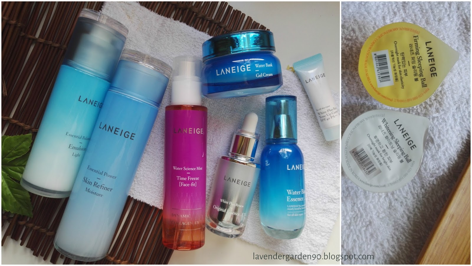 Carolyns Lavender Garden Of Water Science And Dewy Skin A Brand Laneige Original Korea Trial Kit Sample Basic Care Moisture 2 Items Overview Reviews 25 Products Part