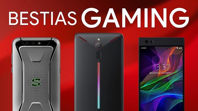 Xiaomi Black Shark Helo vs Razer Phone 2 vs Asus ROG Phone, 3 teléfonos para gamers más potentes que una consola...