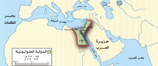 بحث عن  الدولة الطولونية
