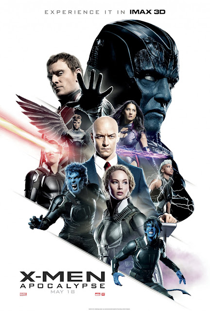 X-Men: Apocalypse Final IMAX Theatrical One Sheet Movie Poster