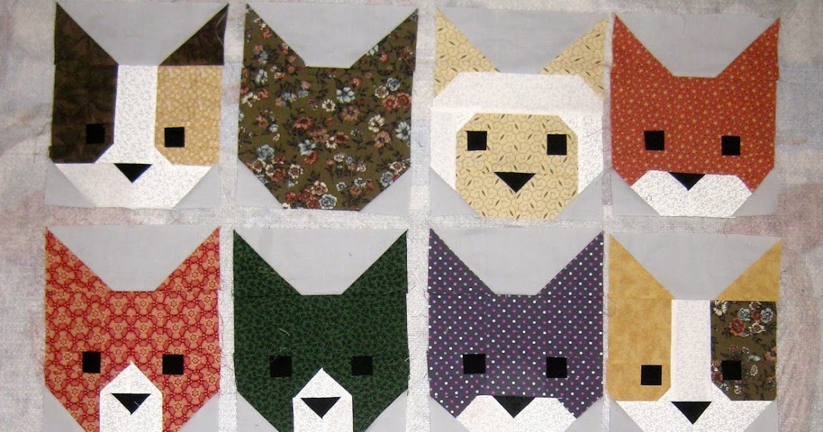 Sewing With Cupcake A Kitten Quilt