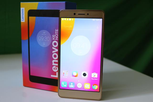 Lenovo K6 Note-gadgetstous