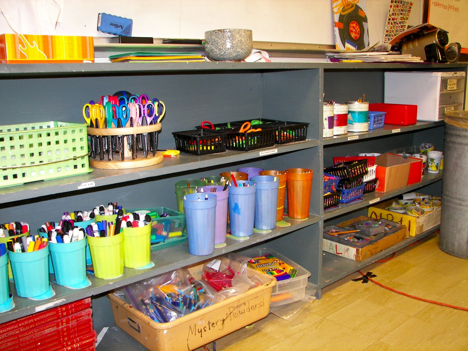 Classroom Equipment Ideas ~ Sparta news and notes classroom supply closet