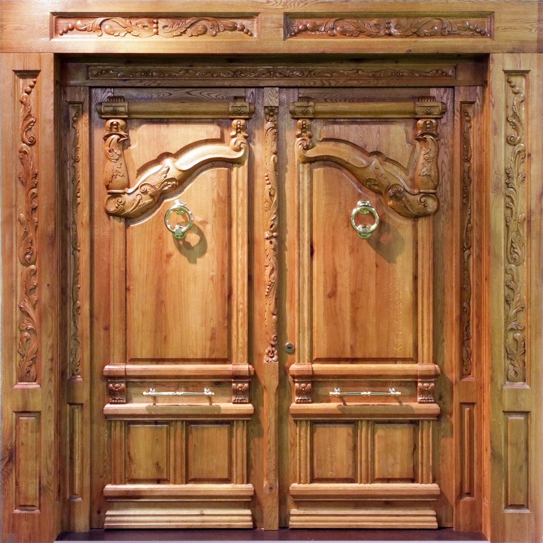 Puertas y cocinas jaramillo for Fotos de puertas de madera antiguas