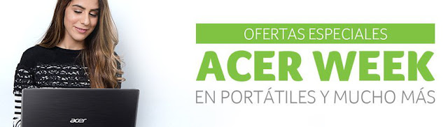 Top 10 ofertas Acer Week de PcComponentes