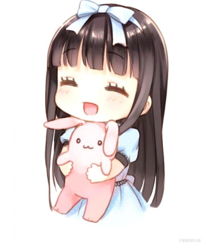 cute anime girls by
