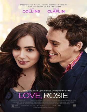 Poster Of Love, Rosie In Dual Audio Hindi English 300MB Compressed Small Size Pc Movie Free Download Only At worldfree4u.com
