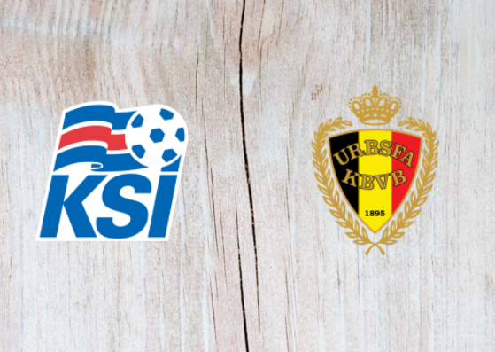 Iceland vs Belgium Full Match & Highlights 11 September 2018