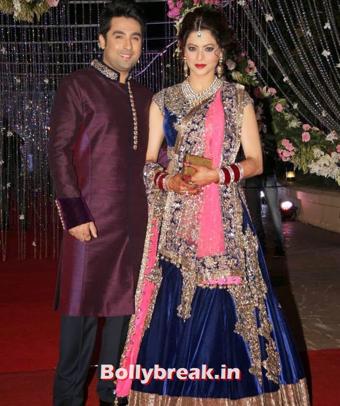 , Aamna Shariff & Amit Kapoor's Wedding Reception Pics