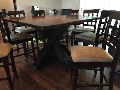 #millsnewhouse, Smith Building hand crafted table. Smithbuild.weebly.com