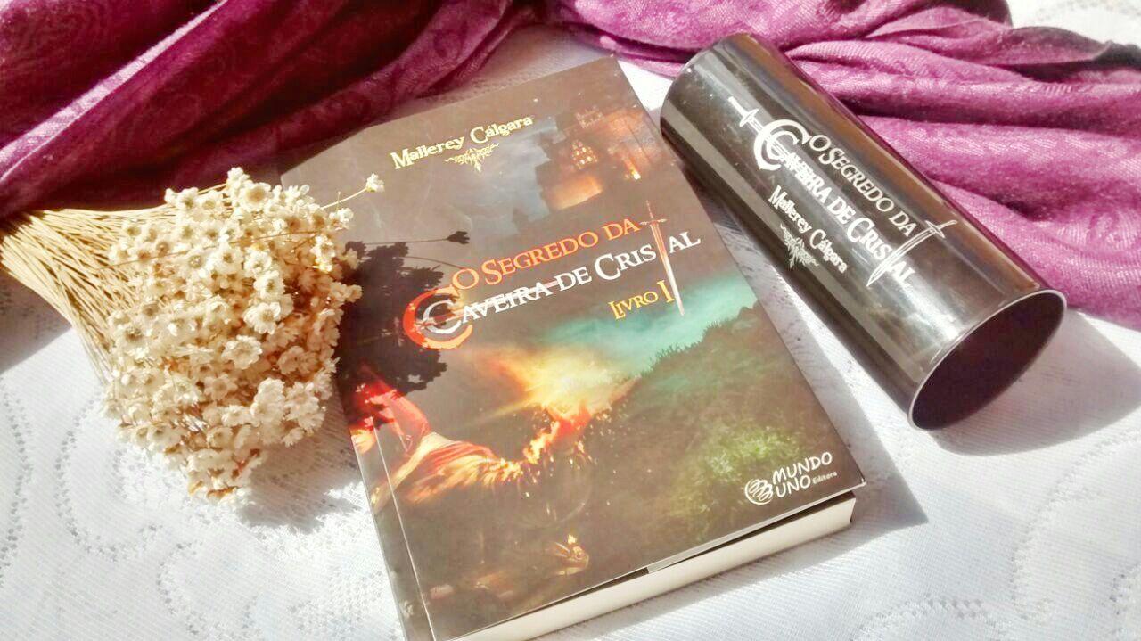 Livro O Segredo Da Caveira De Cristal - Mallerey Cálgara