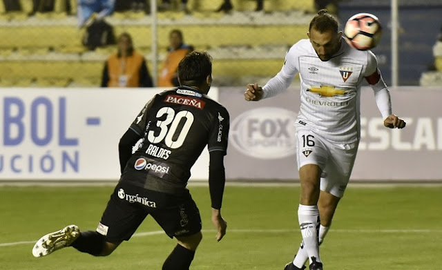 Liga de Quito vs Bolivar en vivo
