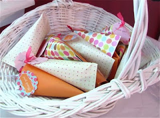 how to make a candy box out of scrapbook paper for party favors