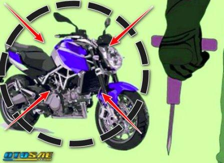 Tips Ampuh Anti Maling Motor Gak Pake Ribet