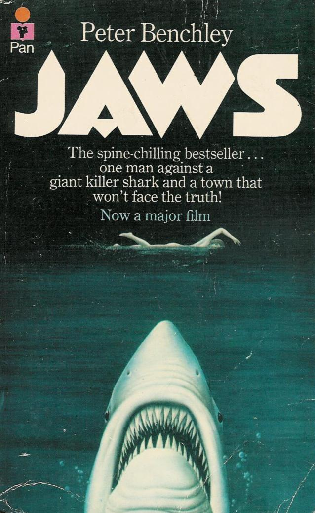 Too Much Horror Fiction Jaws By Peter Benchley 1974