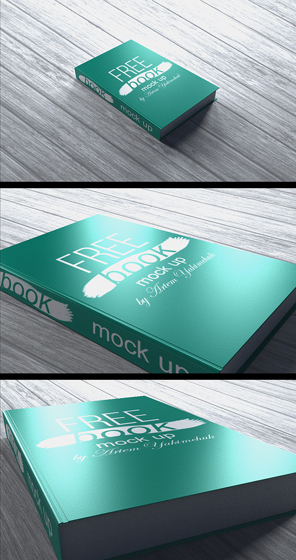 Download Gratis Mockup Majalah, Brosur, Buku, Cover - Free Book MockUp