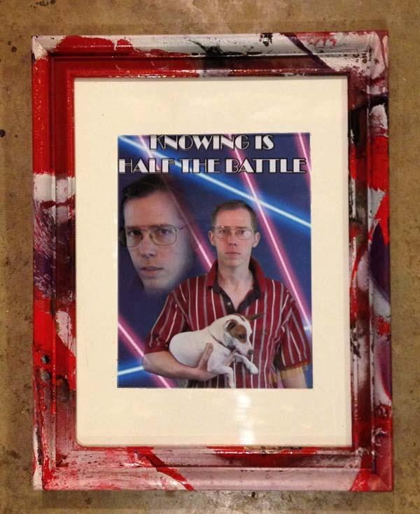 WardWorks: Totally \'80s Photo Collage Portrait