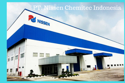 PT. Nissen Chemitec Indonesia Membuka Lowongan Kerja Terbaru Kawasan Suryacipta