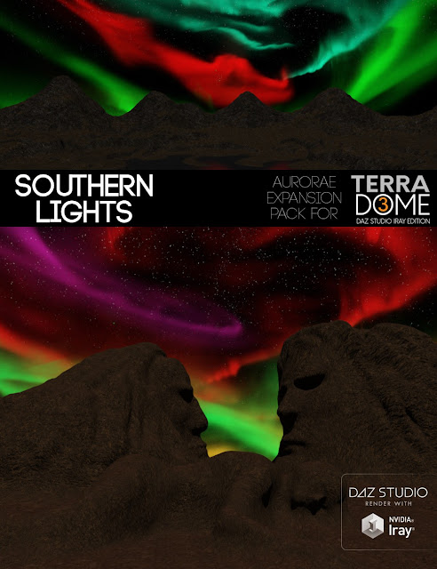 Southern Lights for TerraDome3