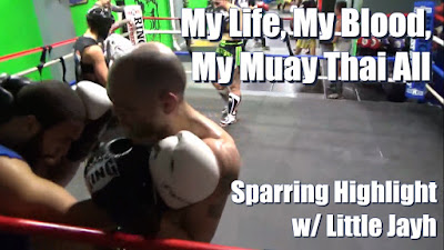 Muay Thai Tech Sparring Training at Kings Thai Boxing NYC