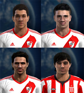 Mini Facepack River Plate v3 Pes 2013