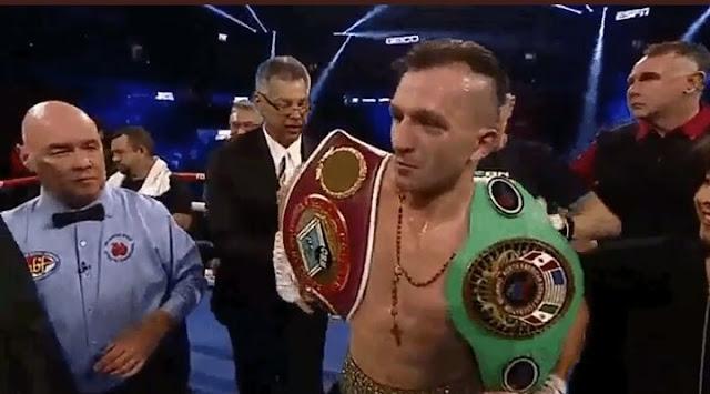 Egidijus Kavaliauskas def. Roberto Arriaza, via 2nd Round KO to claim NABF