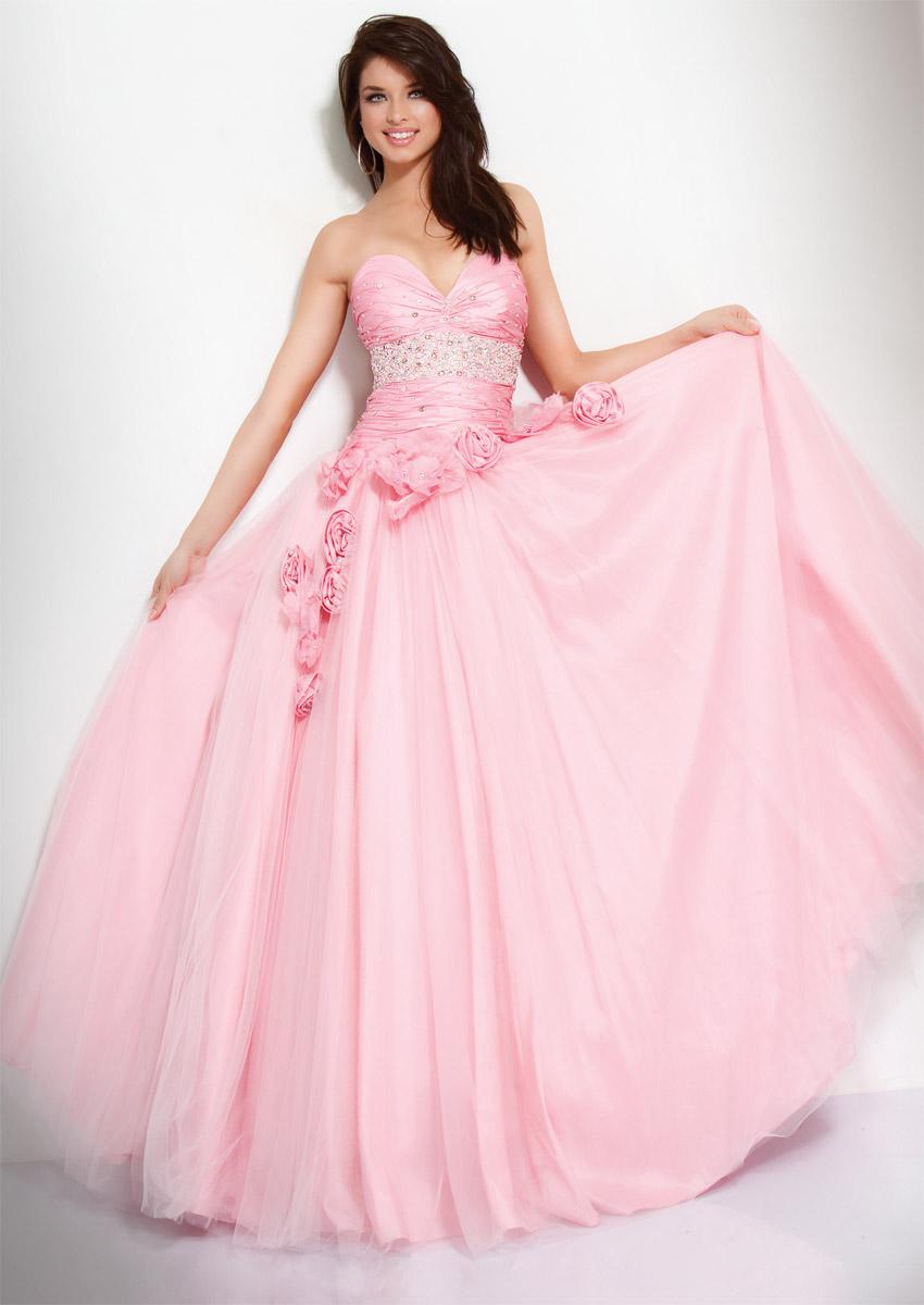 Wedding Ideas AU: Strapless Prom Dresses
