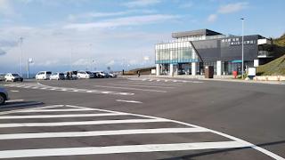 道の駅石狩「あいろーど厚田」第1駐車場