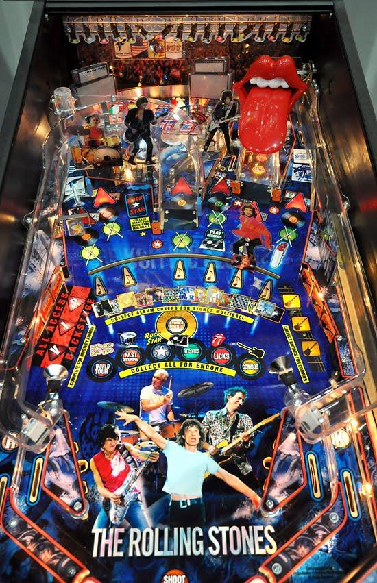 Southwest Florida Pinball Avenue Rolling Stones Pinball