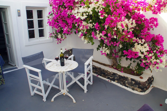 Balcony Nostos Apartments Oia Santorini