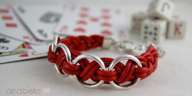 pulsera-de-cuero-rojo