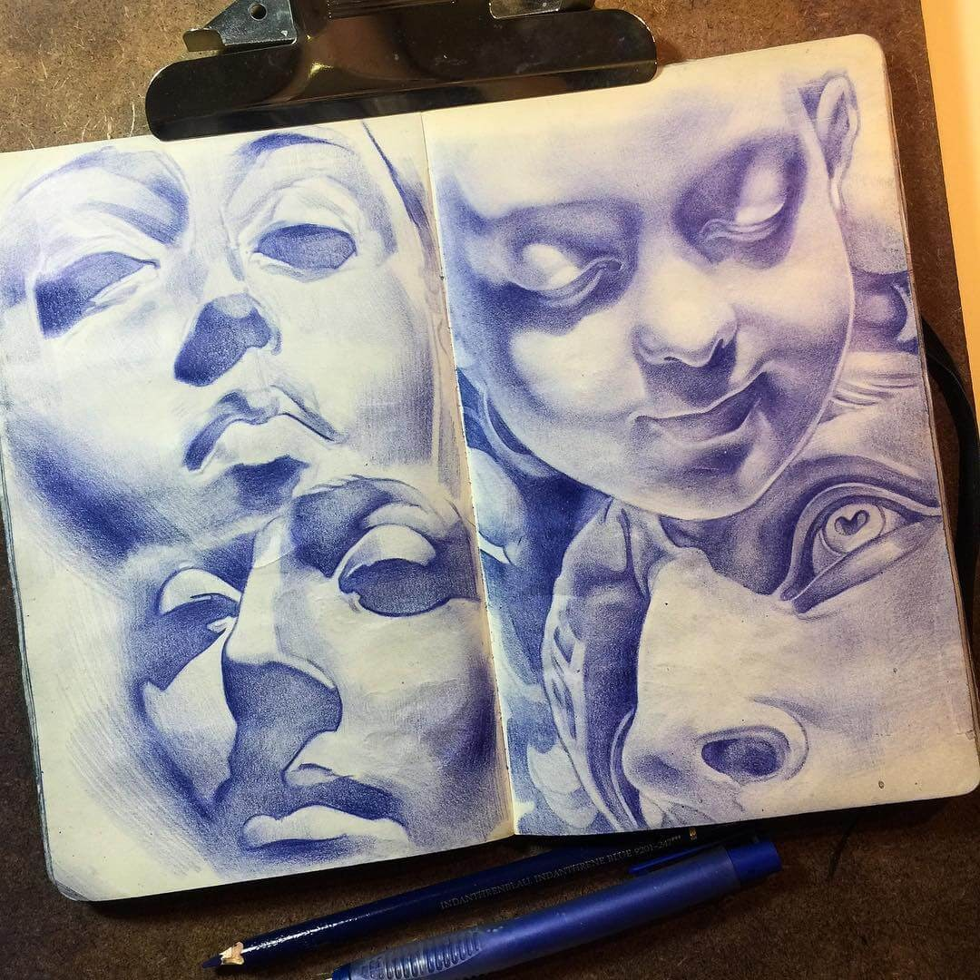 13-Tatiana-Caffeine-Moleskine-Color-Pencil-Drawings-www-designstack-co