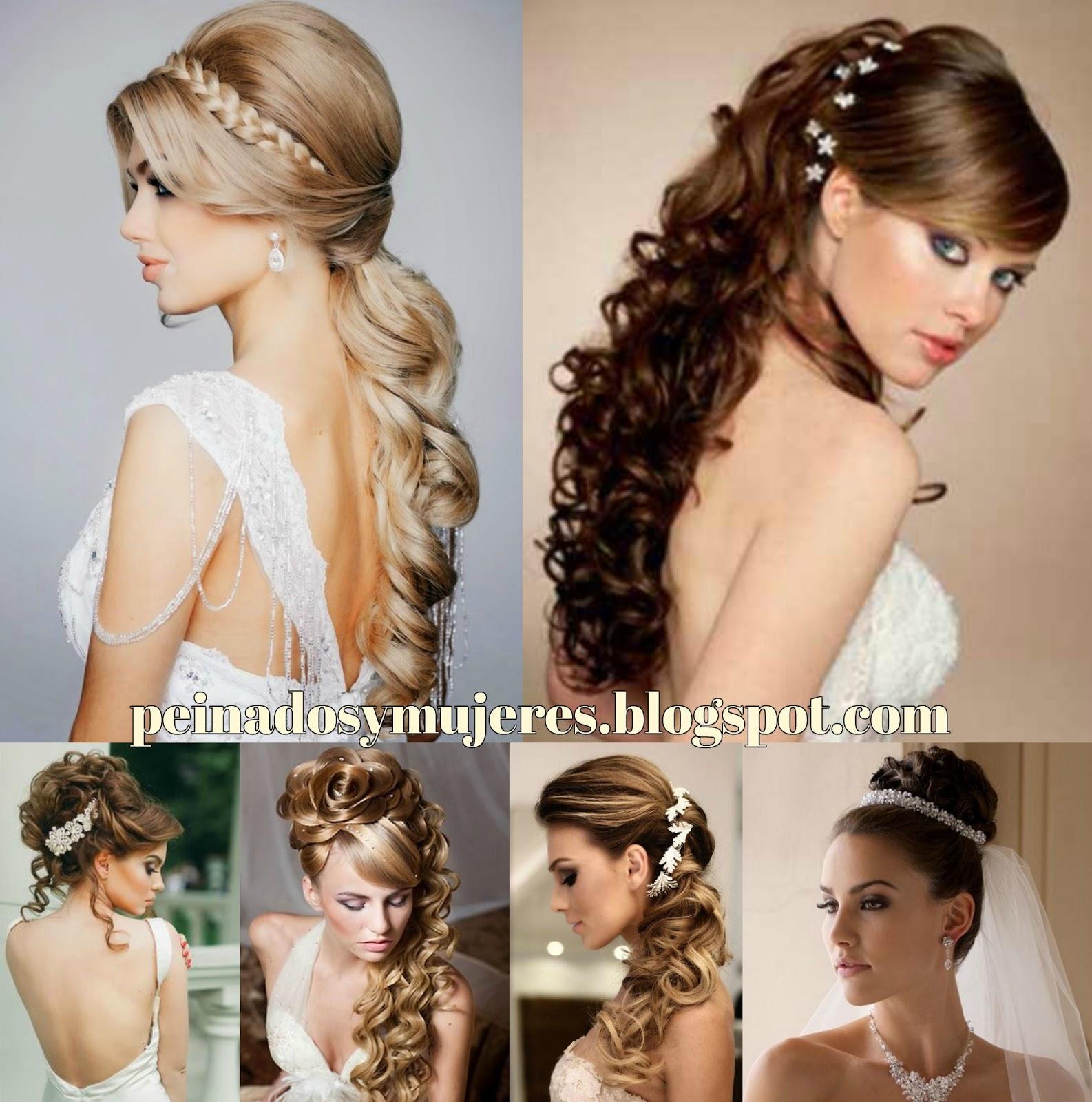 Vestidos Peinados Y Maquillaje - Peinados + maquillaje + Vestido de novia= Guapisima novia de Casa