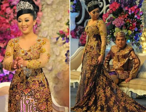 model baju pengantin untuk orang gemuk