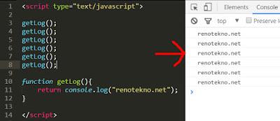 contoh konsep DRY pada javascript