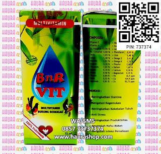 BnR Vit adalah multivitamin yang sejak lama sudah terbukti khasiatnya. BnR Vit mengandung vitamin E yang berfungsi sebagai antioksidan biologis untuk melindungi struktur sel burung dan juga berfungsi meningkatkan kesuburan