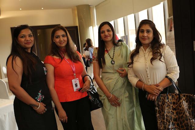 (Left to Right)-Anju Bansal, Esha Malhotra, Reena Aggarwal, Meenakshi Dhingra-