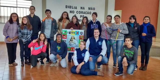 Formação prepara jovens para implantação da Juventude Missionária na diocese de Cornélio Procópio (PR)