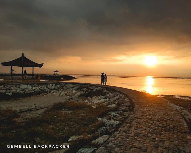 Menikmati Keindahan Sunrise di Pelabuhan Pantai Sanur Bali