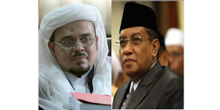Ternyata Nasab Habib Rizieq dan Kh Sa'id Aqil Siradj Hingga ke Rasulullah SAW