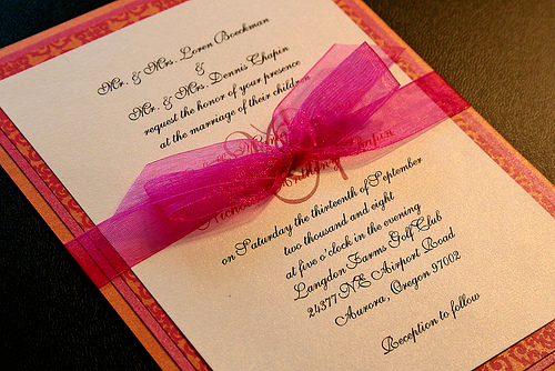 Fuschia And Orange Wedding Invitations: JustWeddings Inspired! From Nigeria's Wow* Factor Planners