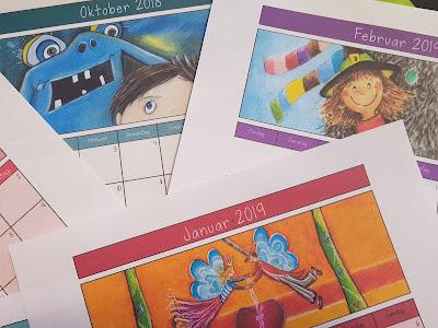 In der Grundschule ist immer was los. Alles was wichtig ist, kannst du in unserem bunten Kalender für 2018 / 2019 notieren