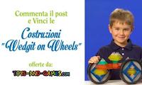 Logo Gioca e vinci gratis le Costruzioni Wedgit on Wheels