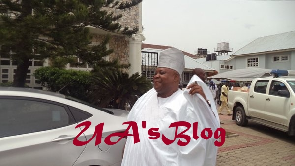 Senator Adeleke All Smiles After Being Granted N2million Bail By Court