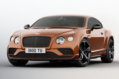 Bentley Continental GT Speed Black Edition (2017) Front Side